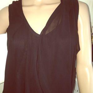 Michael Kors Top cotton and sheer fabric